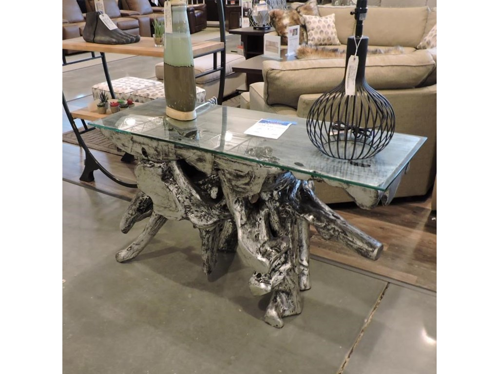 Miscellaneous ClearanceSilver Root Console
