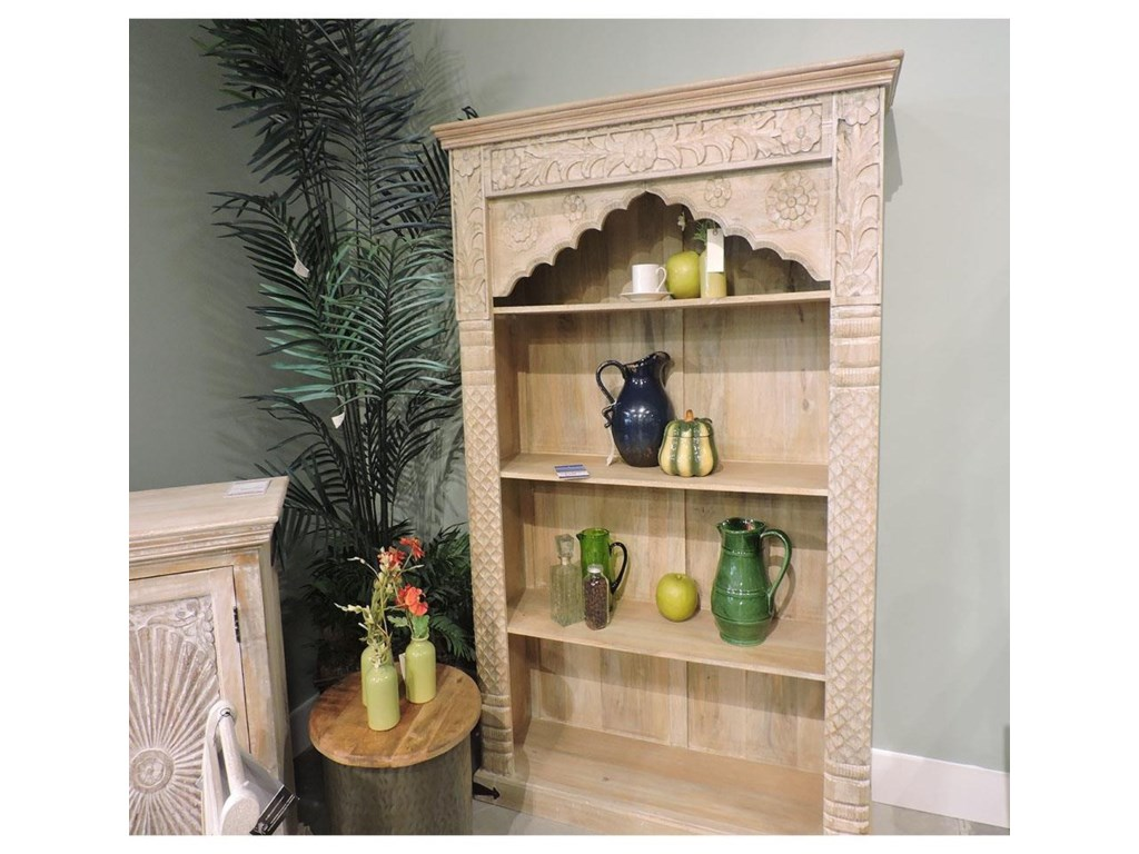 Miscellaneous ClearanceCarved Bookcase