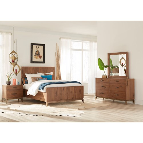 Modus International Adler King Bedroom Group