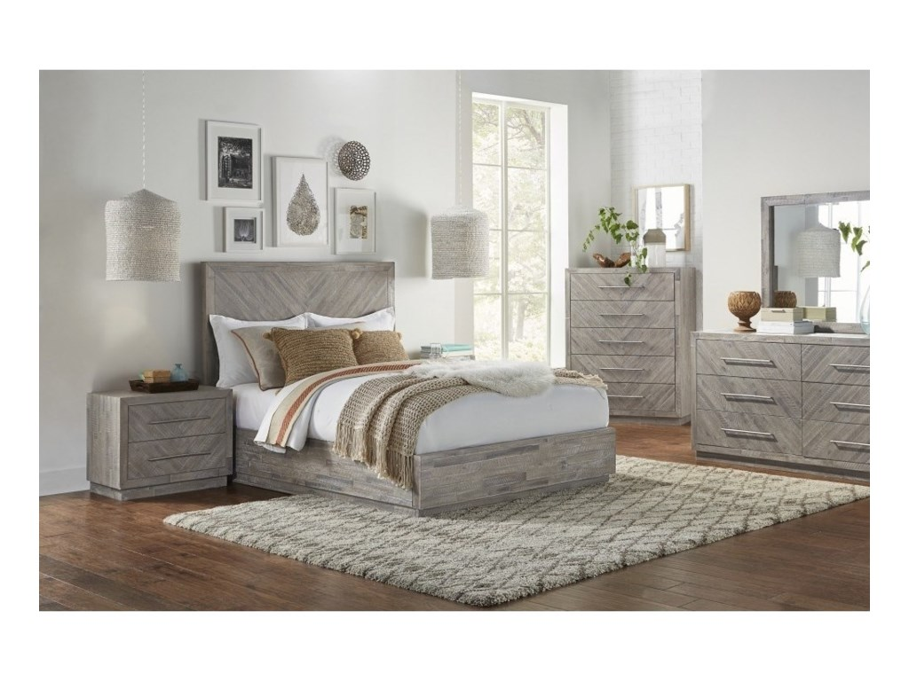 Modus International AlexandraQueen Bedroom Group