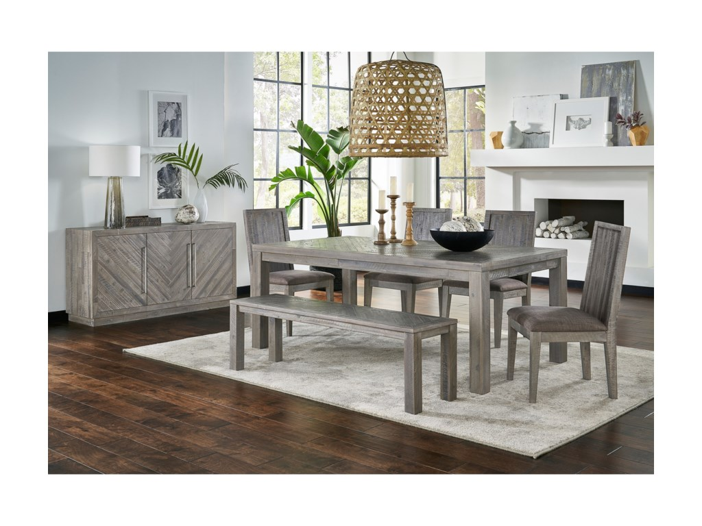 Modus International AlexandraTable Set with Bench