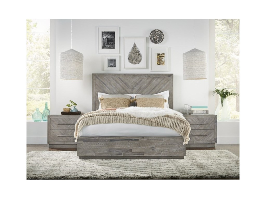 Modus International AlexandraKing Platform Bed