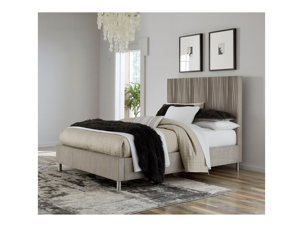 Modus International ArgentoQueen Platform Bed