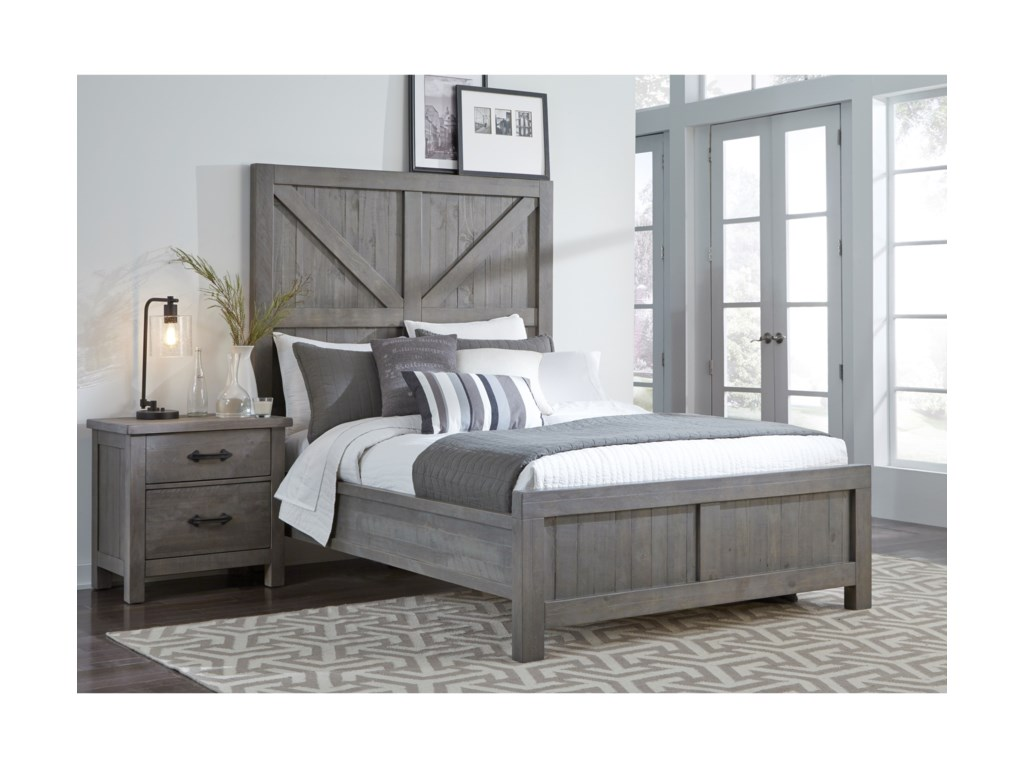 Modus International AustinQueen Low-Profile Bed