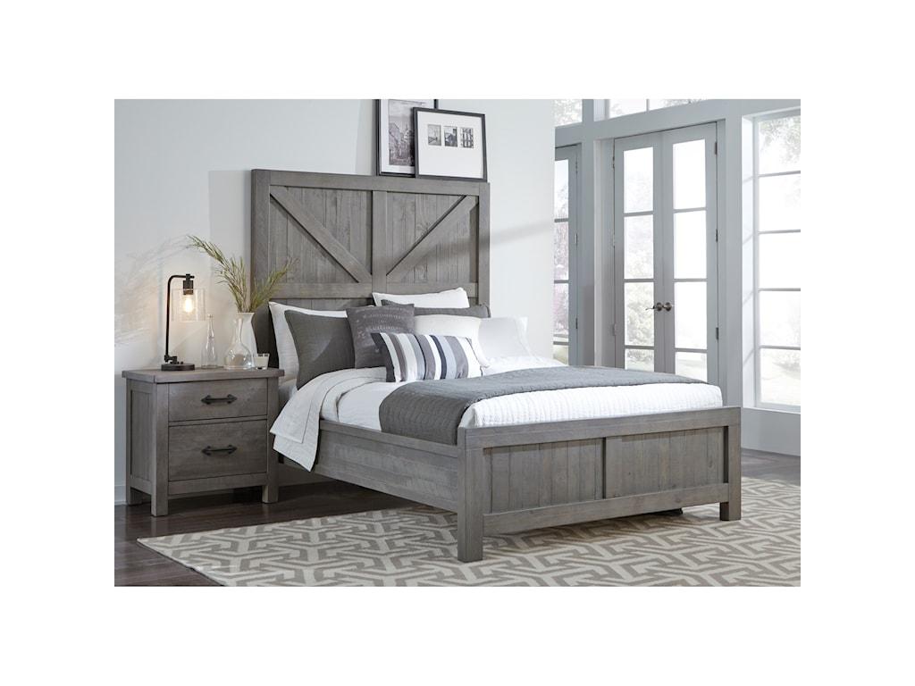 Modus International AustinCalifornia King Low-Profile Bed