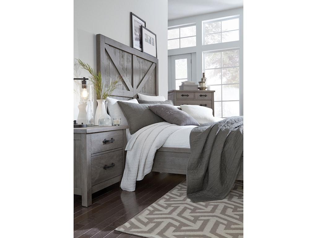 Modus International AustinKing Low-Profile Bed