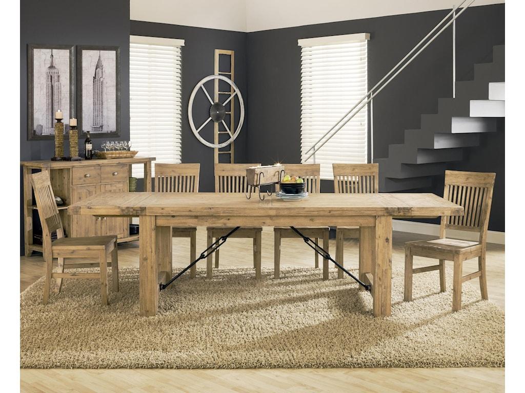 Modus International Autumn7-Piece Dining Table Set