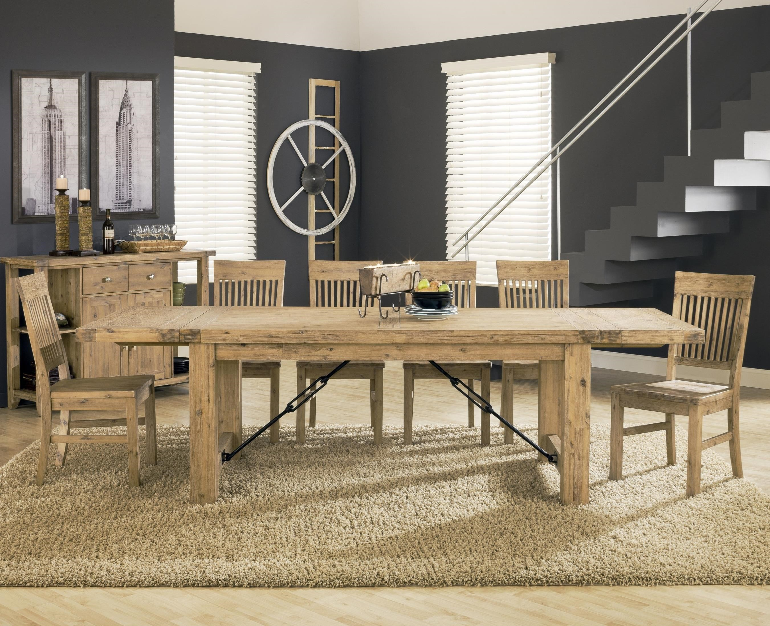 Exceptionnel Modus International Autumn7 Piece Dining Table Set ...