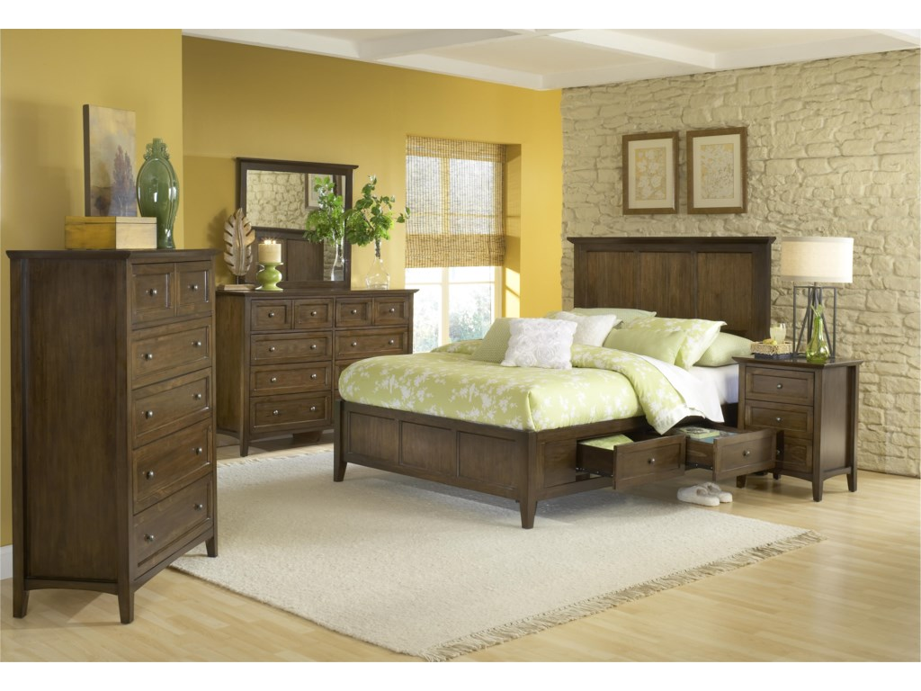 Modus International PenelopeKing Bedroom Group