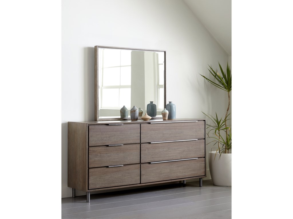 Modus International BerkeleyDresser and Mirror