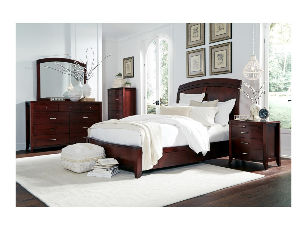 Modus International BrightonQueen Bedroom Group