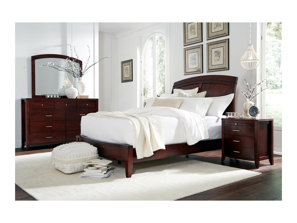 Modus International BrightonKing Panel Bed