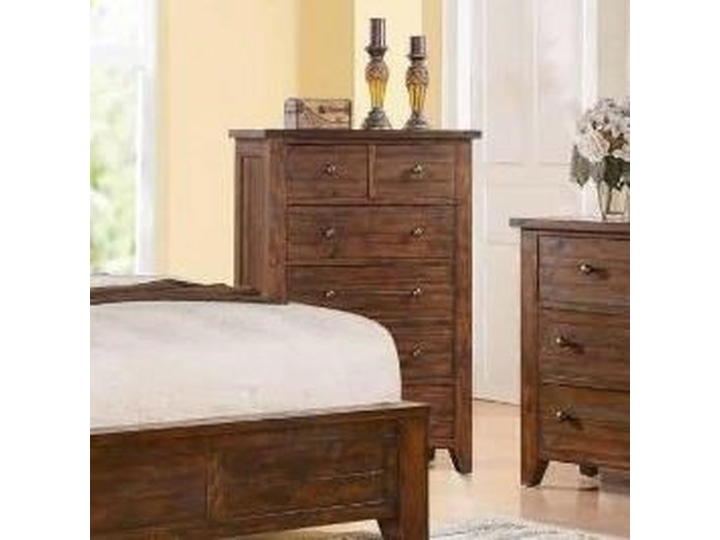 Modus International Cally 9CR6 Drawer Chest