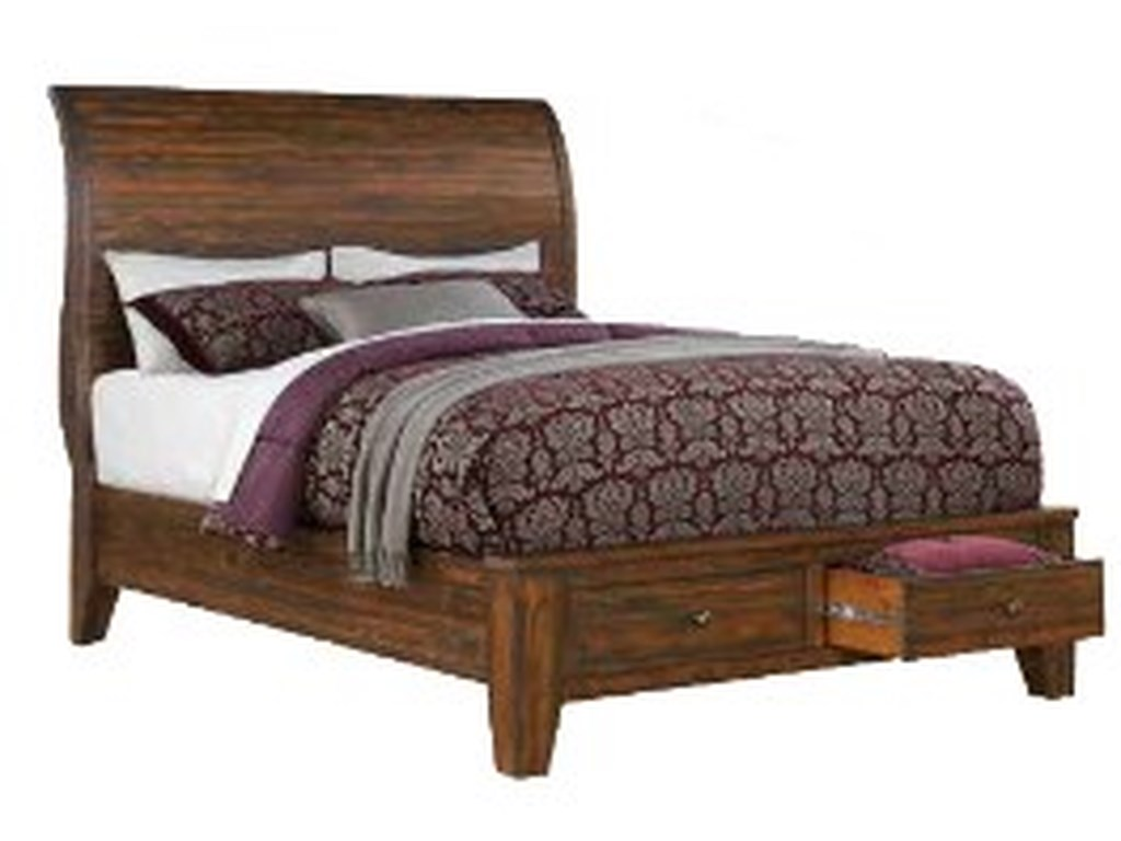 Modus International Cally 9CRKing Storage Bed