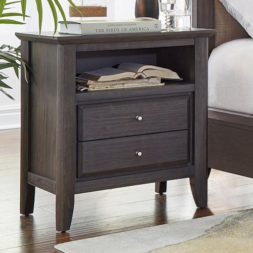 Modus International City II 2 Drawer Nightstand