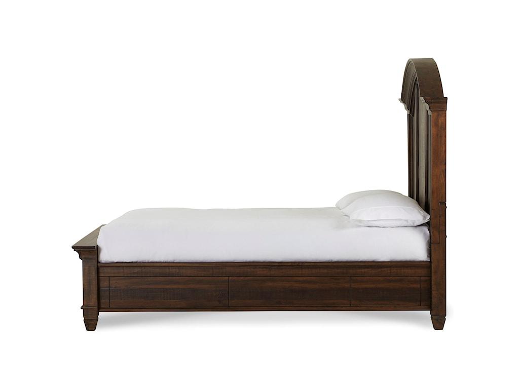 Modus International ColstonKing Solid Wood Storage Bed