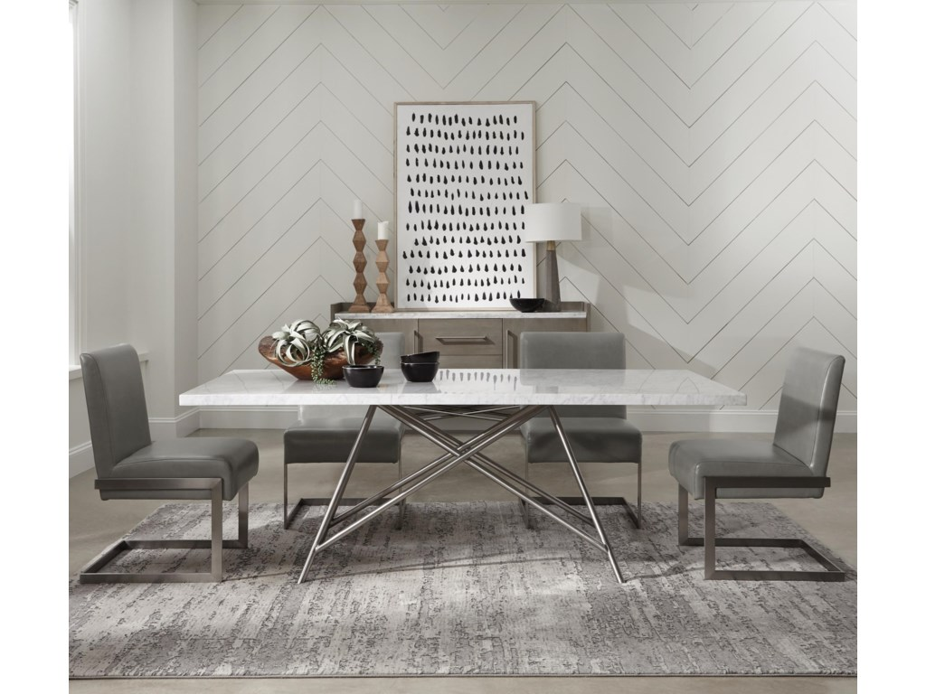 Modus International Coral5-Piece Dining Table Set