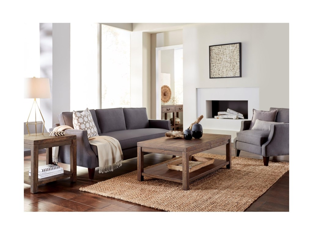 Modus International Craster  Reclaimed Wood Coffee Table