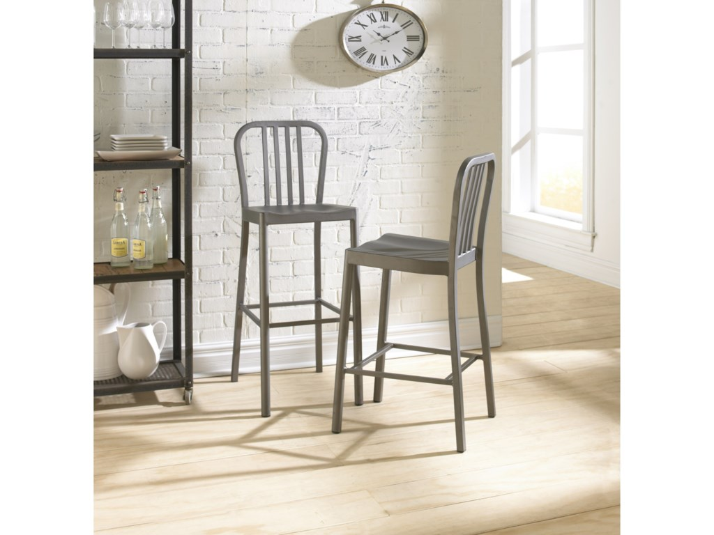 Modus International CrossroadsYork Metal Bar Stool