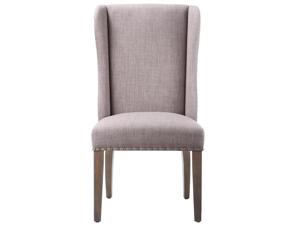 Modus International CrossroadsAlex Upholstered Wingback Dining Chair
