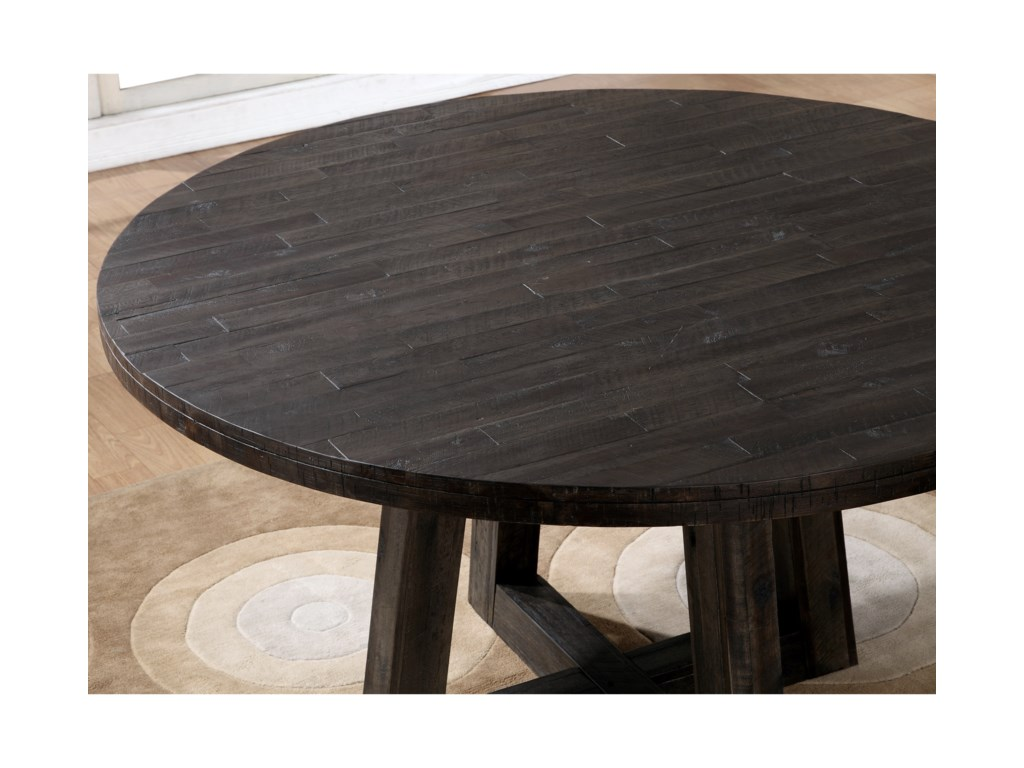 Modus International Crossroads5-Piece Orson Solid Wood Round Table Set