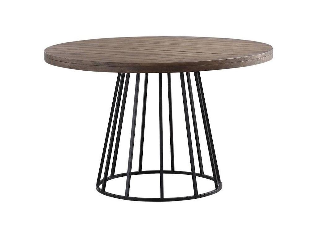 Modus International CrossroadsMayfair Industrial Round Dining Table