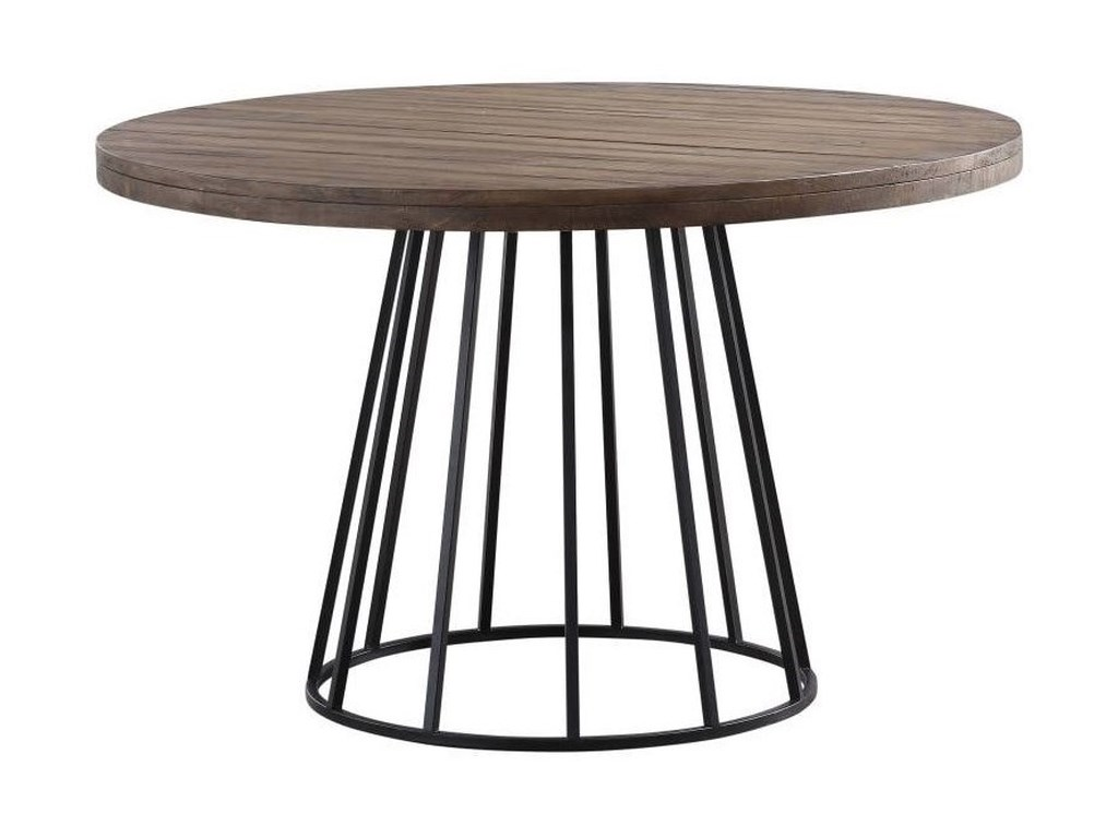 Modus International CrossroadsMayfair Industrial Round Dining Table