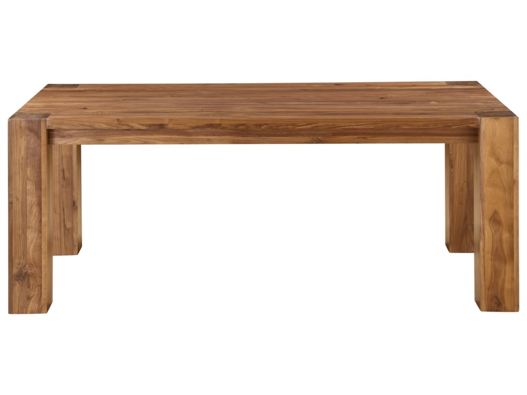 Modus International CrossroadsLassen Solid Walnut Rectangular Table Set