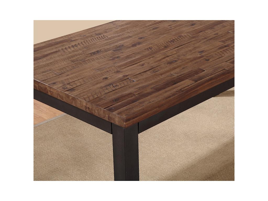 Modus International CrossroadsGabe Solid Wood Rectangular Dining Table
