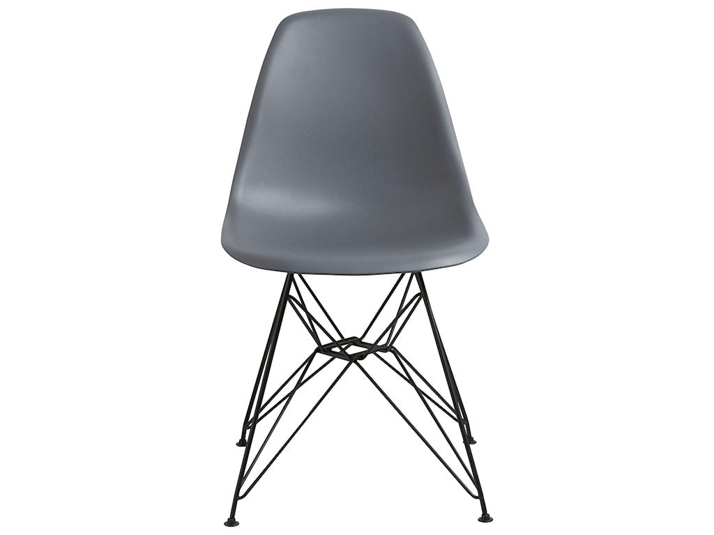 Modus International CrossroadsRostock Molded Plastic Wire Base Chair