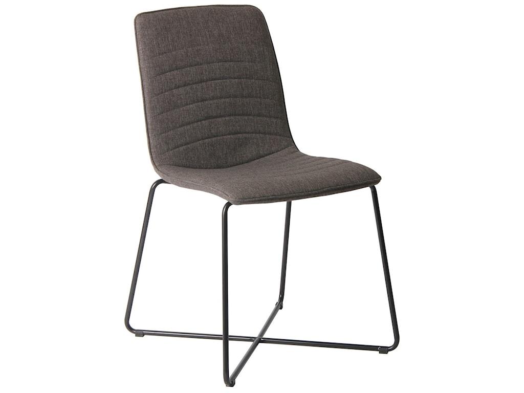 Modus International CrossroadsBaylee Upholstered Cross Base Dining Chair