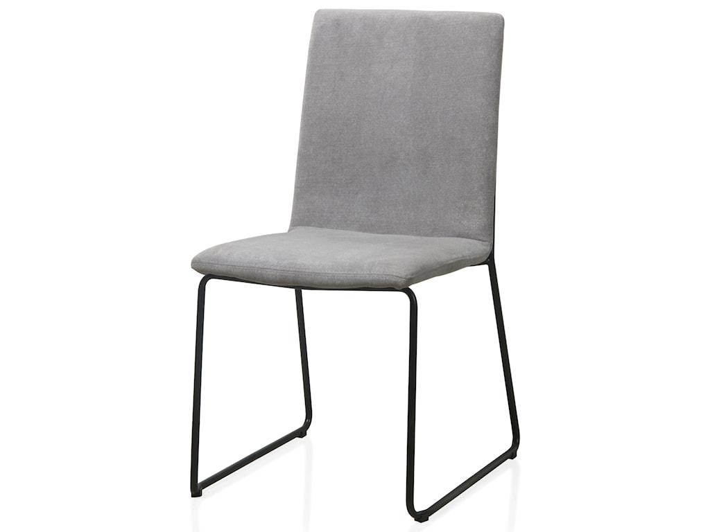 Modus International CrossroadsBaird Upholstered Sled Base Dining Chair in