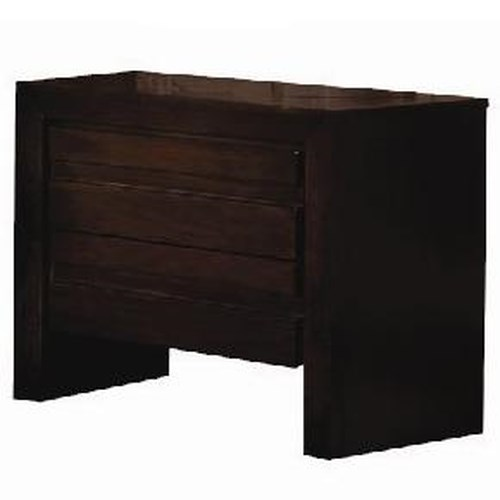 Modus International Element Contemporary Two Drawer Nightstand