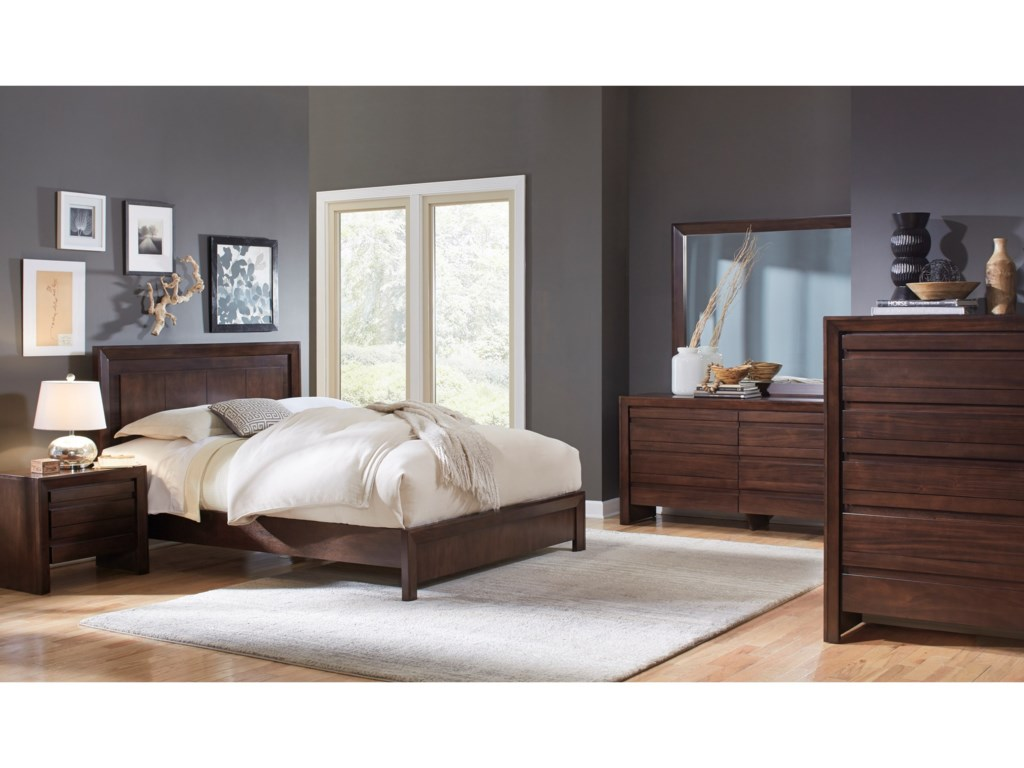 Modus International ElementFull Platform Bed