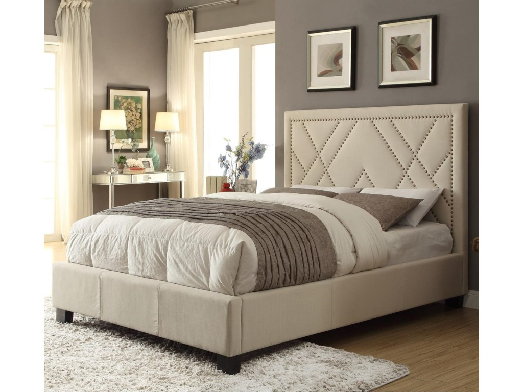 Modus International GenevaCal King Vienne Platform Storage Bed