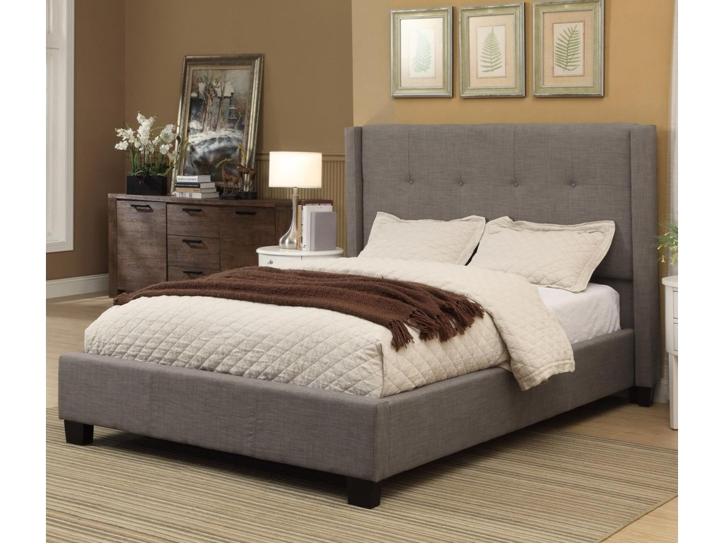 Modus International GenevaFull Madeleine Platform Storage Bed