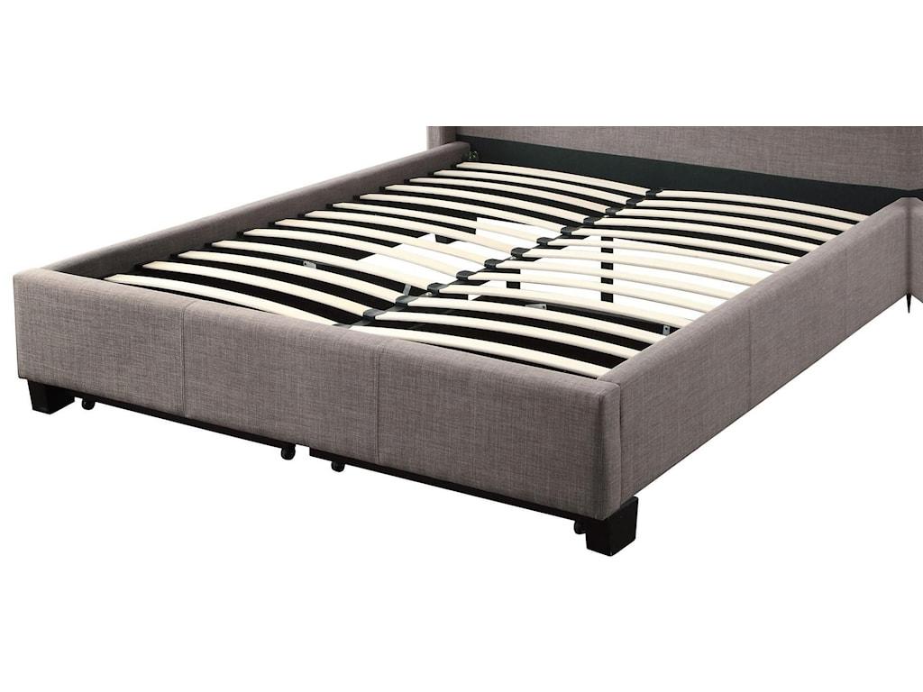 Modus International GenevaQueen Adona Platform Storage Bed