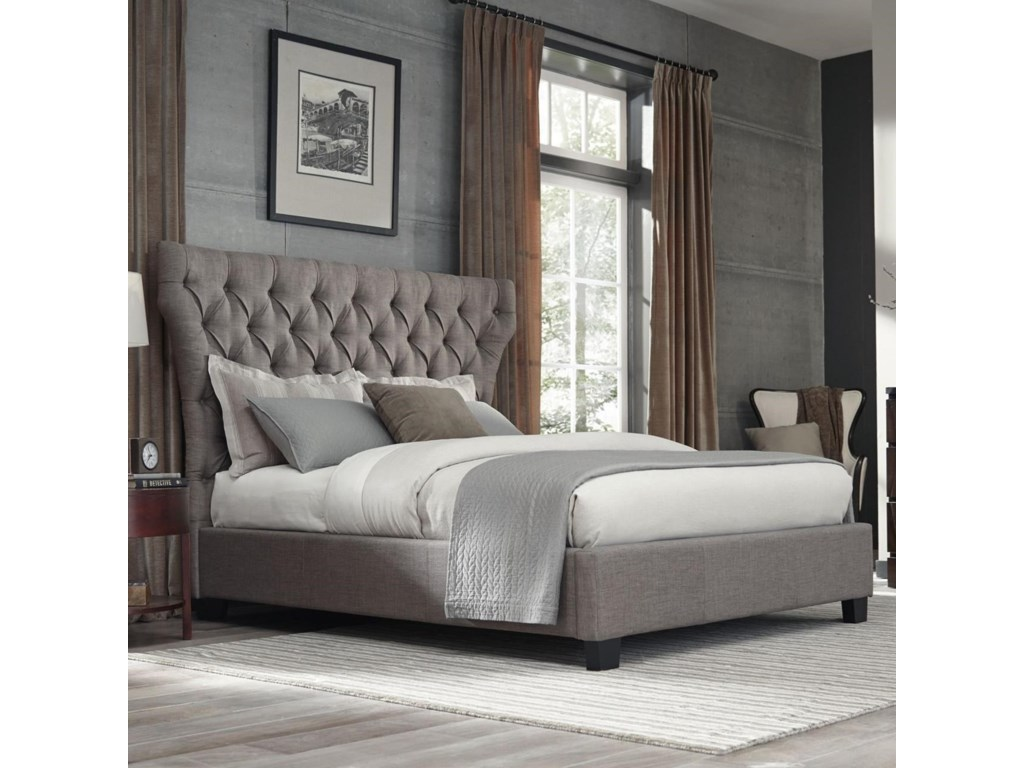 Modus International GenevaQueen Melina Platform Storage Bed