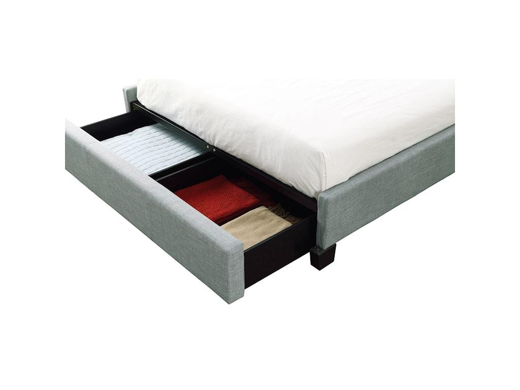 Modus International GenevaCal King Ariana Platform Storage Bed