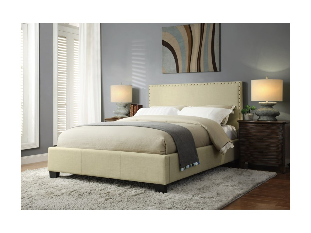 Modus International GenevaCal King Tavel Platform Bed