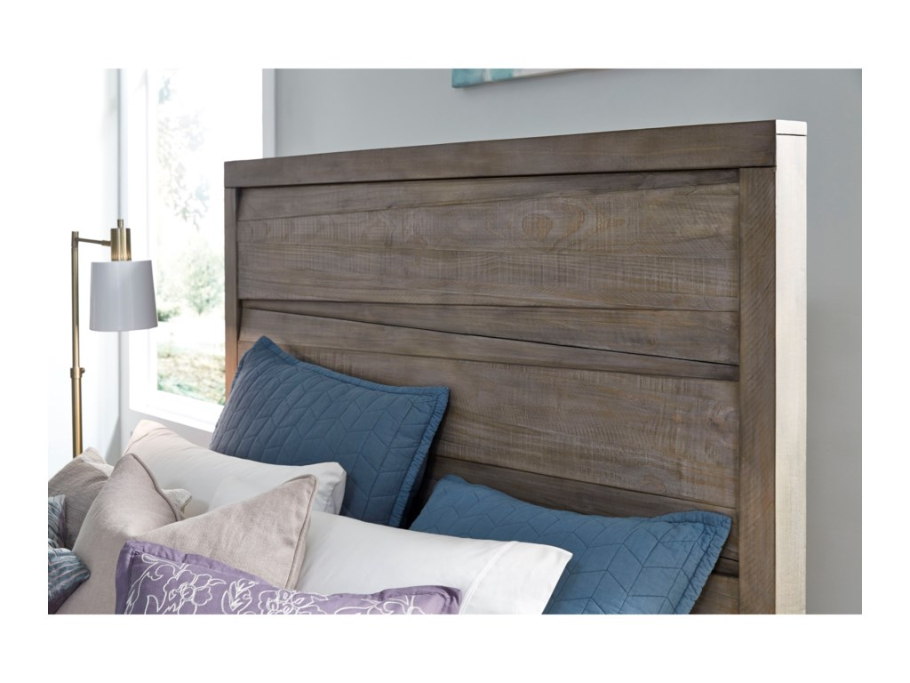 Modus International HearstSolid Wood Queen Panel Bed