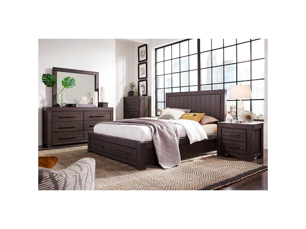 Modus International HeathKing Bedroom Group