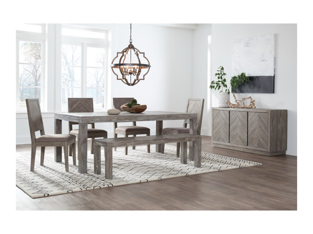 Modus International HerringboneFormal Dining Room Group