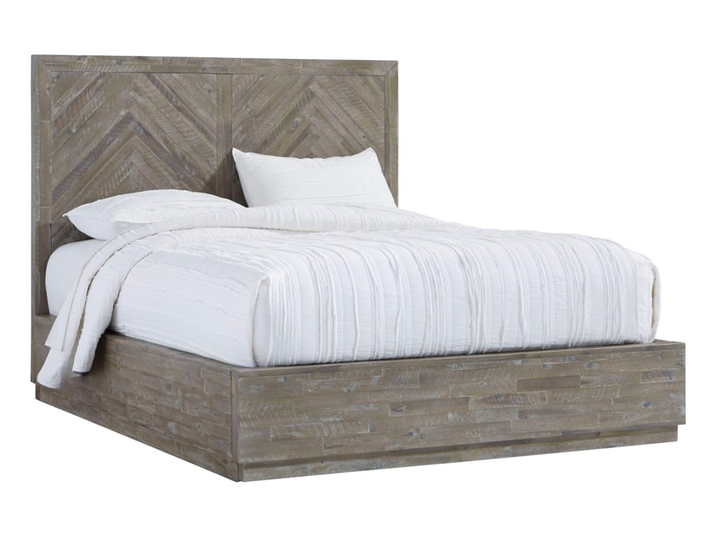Modus International HerringboneFull Storage Bed