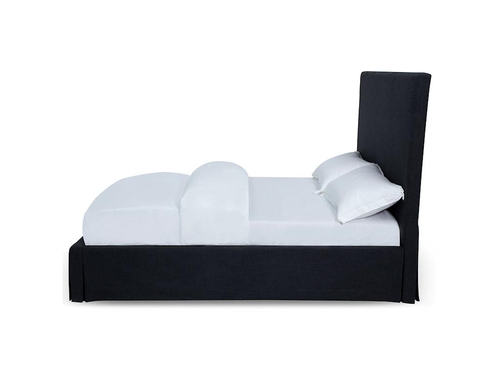 Modus International JulietteCheviot Queen Uph Skirted Storage Bed