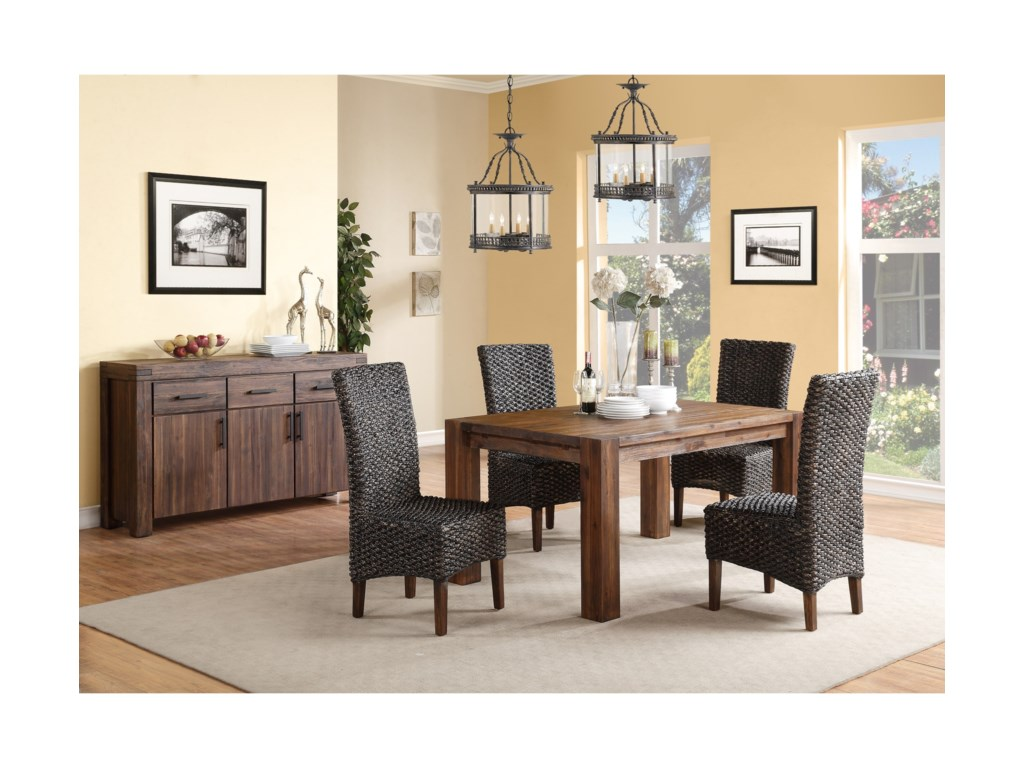Modus International MeadowCasual Dining Room Group