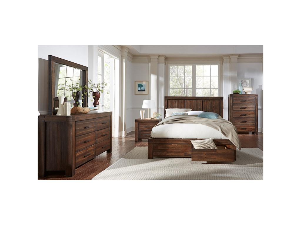 Modus International MeadowQueen Bedroom Group
