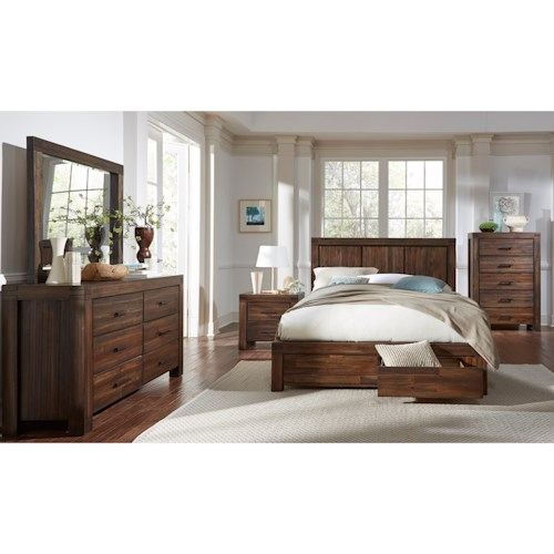 Modus International Meadow Bedroom Queen Bedroom Group