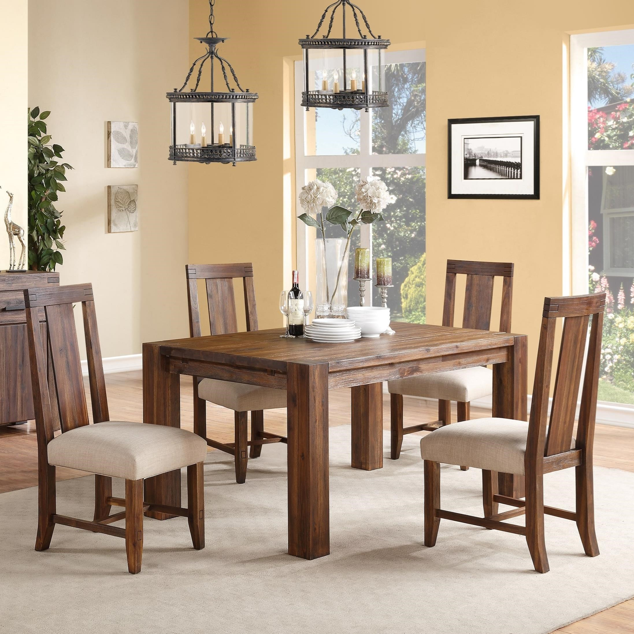 Modus International Meadow Dining 5 Piece Table U0026 Chair Set