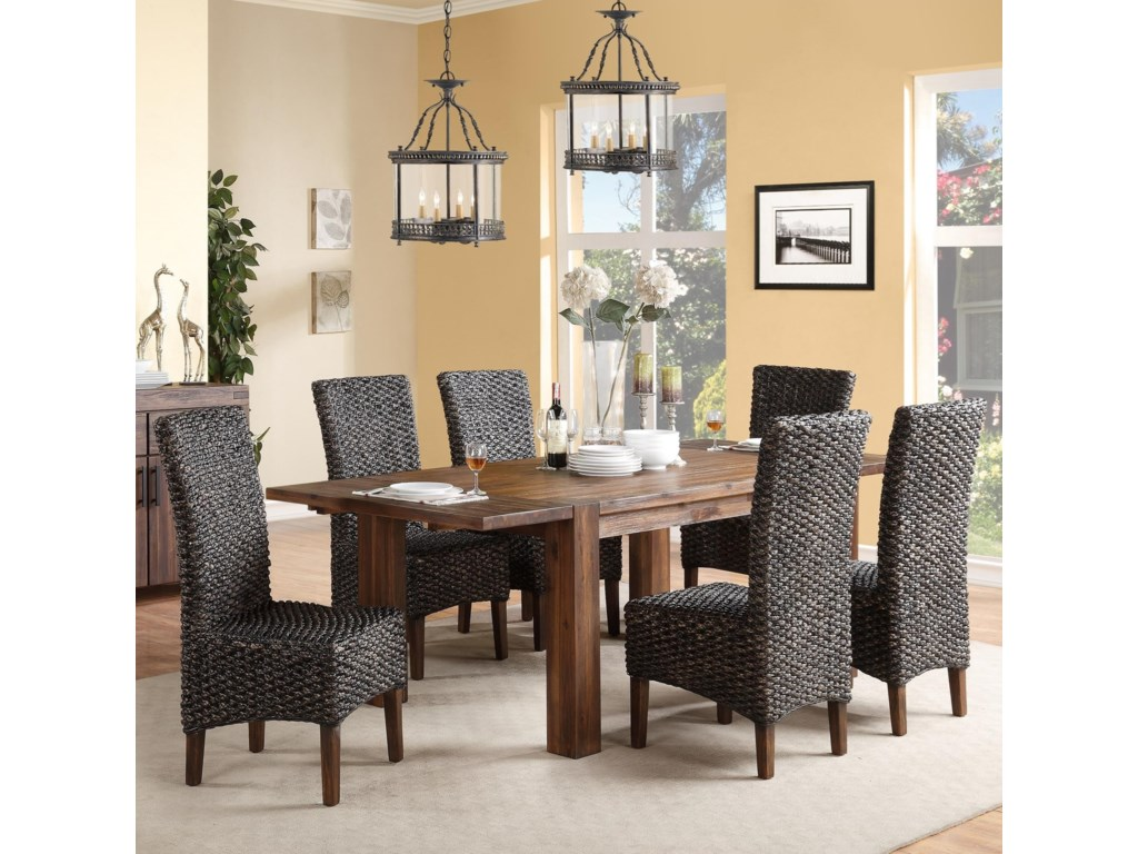 Modus International Meadow7-Piece Table & Chair Set